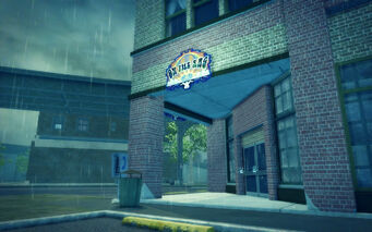 Prawn Court in Saints Row 2 - On The Rag exterior