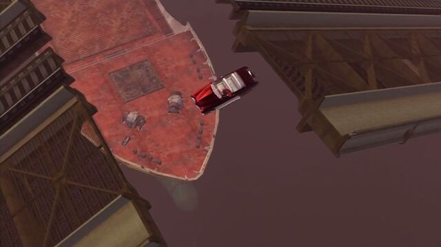 File:House Call - Angelo's Gunslinger falling off raised bridge.jpg
