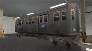 Saints Row variants - El Train - El Train Front - front right
