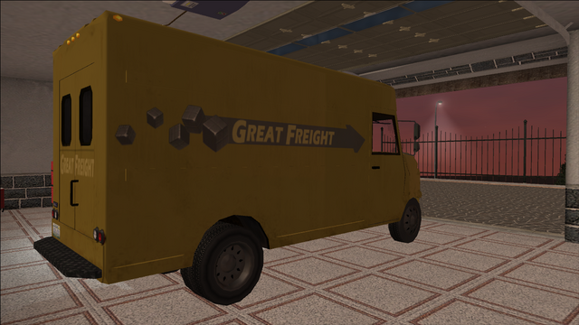 File:Saints Row variants - Delivery Truck - Great Freight - rear right.png