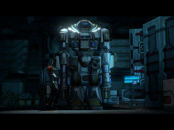 Welcome Back - Kinzie and Mech Suit