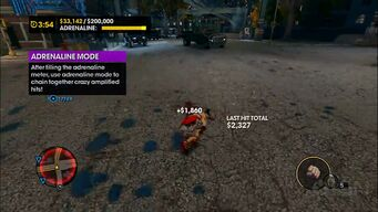 Insurance Fraud - Adrenaline Mode tutorial in Saints Row The Third