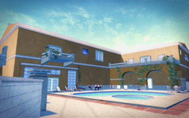 File:Lopez Mansion pool area in Saints Row 2.jpg