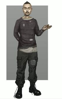 Donnie Saints Row IV Concept art