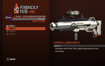 Viper Laser Rifle - Level 2 description