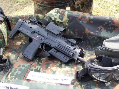 TEK Z-10 - MP7 Personal Defense Weapon in real life