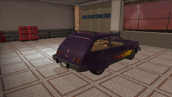 Saints Row variants - Slingshot - Gang 3SS lvl2 - rear right