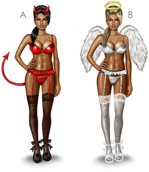 Strippers - concept art