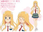 Mitsuki Character Art Design