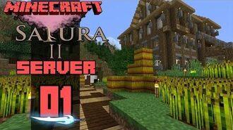 Minecraft Sakura II Server E01 Spellspire Farms