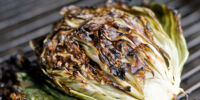 Salad with Grilled Radicchio & Knob Onions
