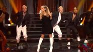 Ariana Grande performing The Way and Problem iHeartRadio Music Awards