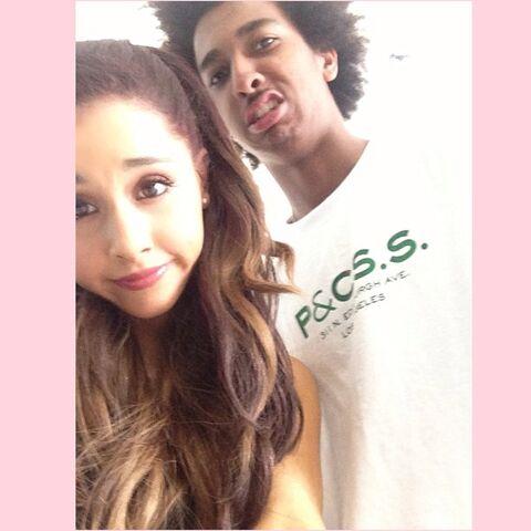 File:Ariana and Taco April 28, 2013.jpg
