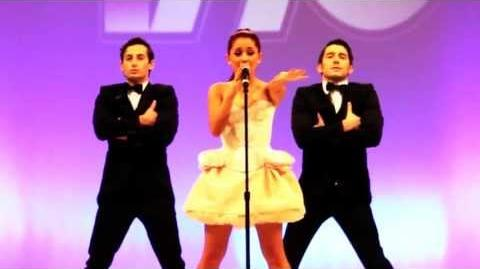 """Ariana Grande performing """"Born This Way Express Yourself"""" Mash Up Live"""