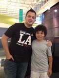 Noah Munck and Cameron Ocasio