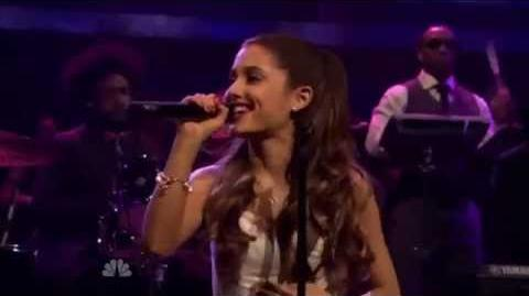Ariana Grande and Mac Miller Perform The Way live on Jimmy Fallon