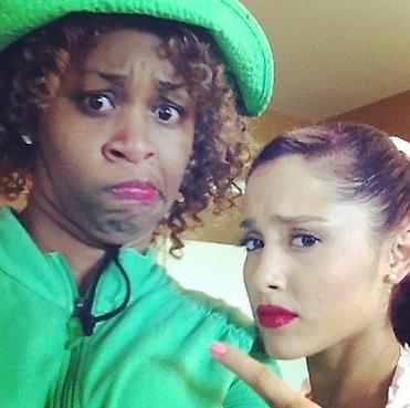File:Ariana and her friend GloZell.jpg