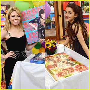 File:Jennette McCurdy and Ariana Grande's Birthday Cake on Set.jpg
