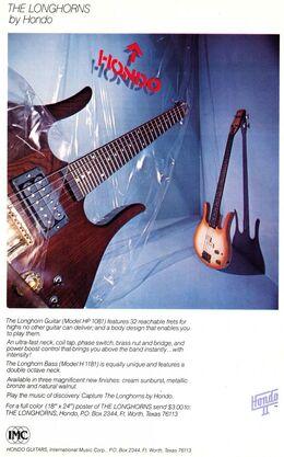 81 Longhorn ad