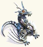 Dragon statue level 2