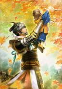 Motonari Mouri SW4 Artwork