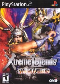 Samurai Warriors Xtreme Legends cover