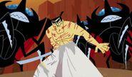 Samurai Jack Torn-Robe outfit