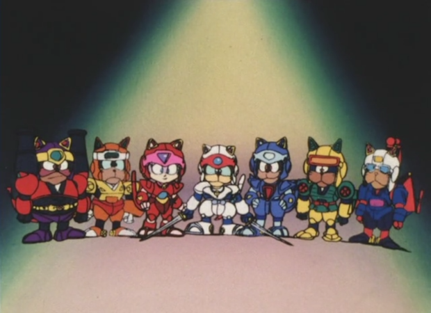 File:Samurai Pizza Cats Group.png