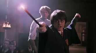 Harry Potter and the Chamber of Secrets Harry Potter and Draco Malfoy's Duel