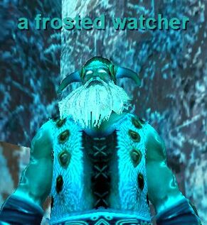 A Frosted Watcher