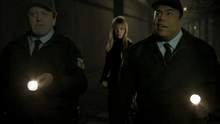 0x02 Ashley jumps down behind two transit cops