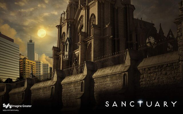 File:Sanctuary-wall syfy.jpg