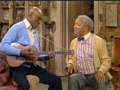 Scatman Crothers Redd Foxx Sanford and Son 1975