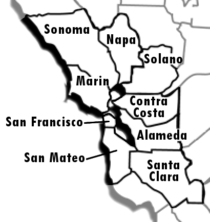 SF Bay Area Counties