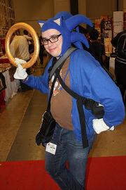 Montreal Comiccon 2014- Sonic the Hedgehog