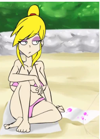 File:Nina on the beach.png
