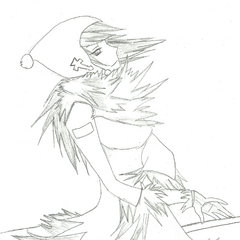 Female Snow. Shoujo Style.