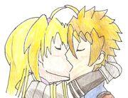 Galant Guinivere kiss