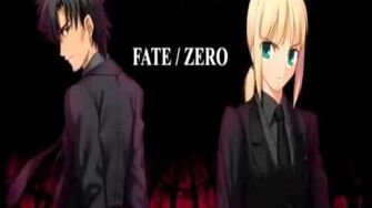 Fate Zero Ending Manten audio