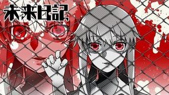Mirai Nikki - Filament HD lyrics