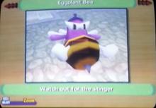 Eggplant Bee