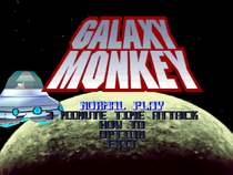 Galaxy Monkey Main Screen