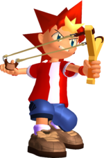 Ape Escape Spike Render
