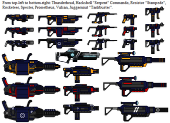 All AXWAL Weapons