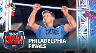 Geoff Britten at the Philadelphia Finals - American Ninja Warrior 2016