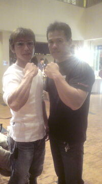 With Mr.sasuke in muscle park