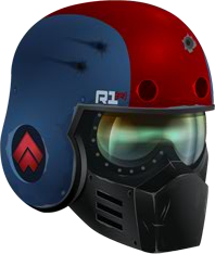 R1 Interceptoe Helm RED