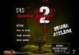 SAS Zombie Assault 2 Insane Asylum