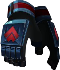 R6 Flamejuggler Gloves RED
