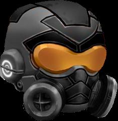 -BLACK- Medusa Helmet